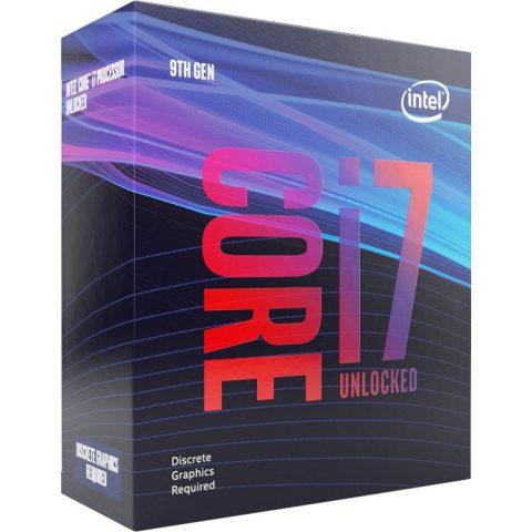 Intel 核心 i7-9700KF 3.7Ghz 无原装风扇 可超频 处理器 CPU