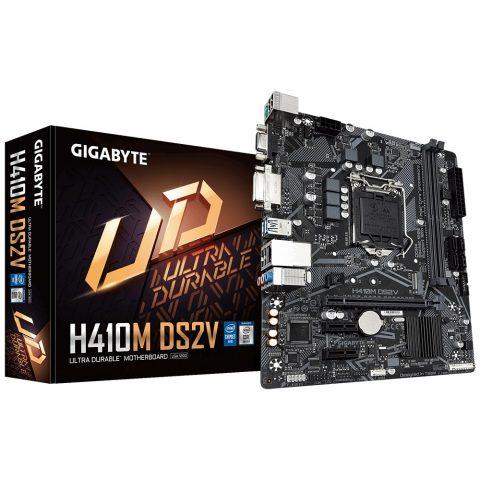 技嘉 Gigabyte H410M DS2V mATX Motherboard 主板 H410 LGA1200 英特尔主板 Intel主板