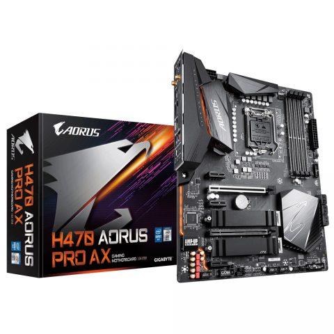 技嘉 Gigabyte H470 AORUS PRO AX ATX Motherboard 主板 H470 LGA1200 英特尔主板 Intel主板