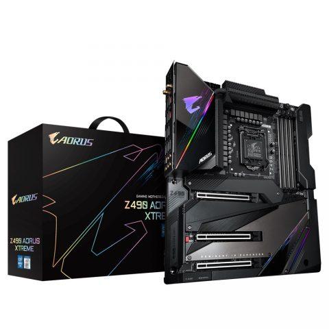 技嘉 Gigabyte Z490 AORUS XTREME E-ATX Motherboard 主板 Z490 LGA1200 英特尔主板 Intel主板