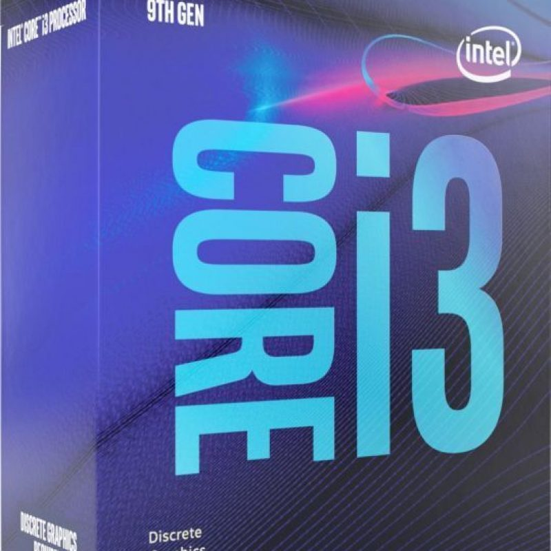 Intel Core i3 9100F 4 Core 3.6GHz