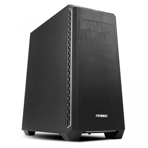 安钛克 Antec P7 Silent Sound Dampening ATX Business, Gaming Case. External 5.25' x 1, Internal 3.5' x 2. Two Years Warranty