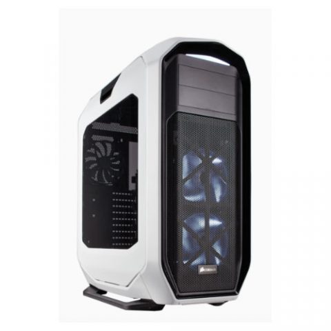 海盗船 780T White E-ATX, XL-ATX Full Tower Case. Supports Dual 360mm Radiator. Support up to 11 Hard Drives