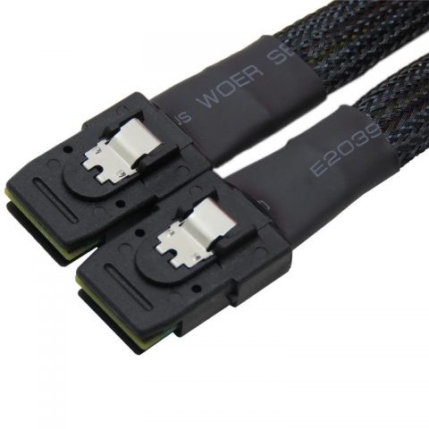 TGC Chassis Accessory SFF-8087 to SFF-8087 Cable, 60cm (1-to-1) Mini SAS Backplane