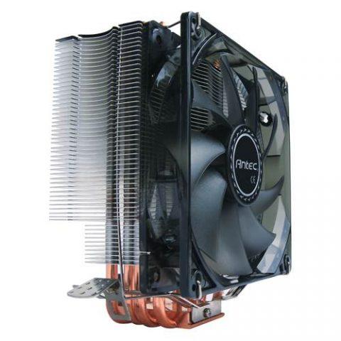 安钛克 Antec C400 Air CPU Cooler 120mm PWM Blue LED 77 CFM 安钛克战虎 C400  台式机电脑 CPU散热器