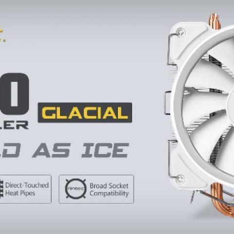 安钛克 Antec C400 GLACIAL White 白色 冰河时代 CPU风冷散热器