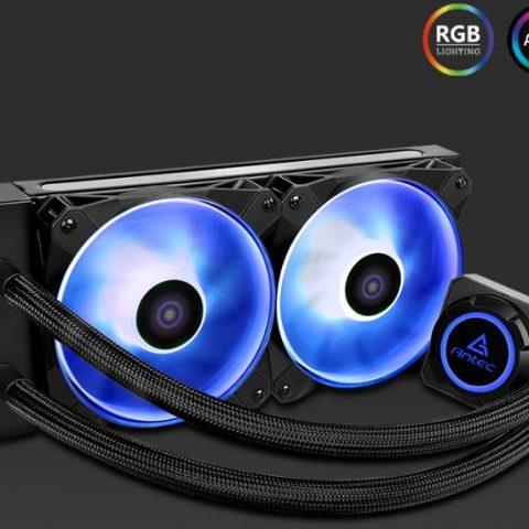 安钛克 Antec Kuhler 水星240水冷 K240 RGB 一体式水冷散热器 RGB水冷