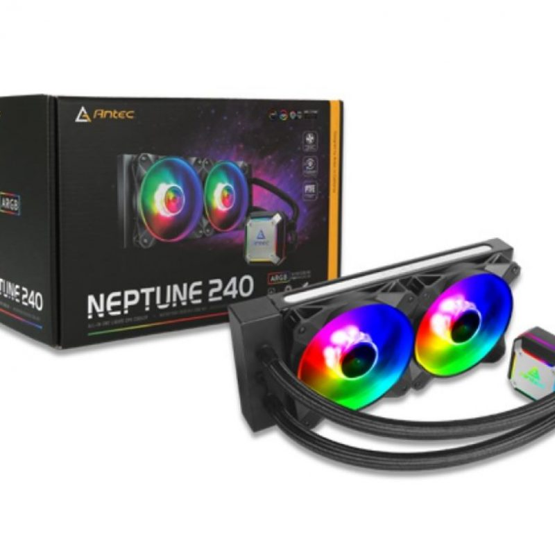 安钛克 Antec 海王星 Neptune 240 ARGB Advanced  一体式水冷散热器 CPU水冷散热器