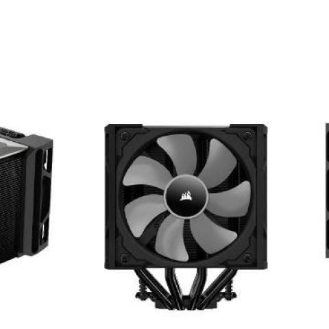 海盗船 A500 双塔CPU散热器 塔式风冷 下压式双风扇 高性能风冷散热器