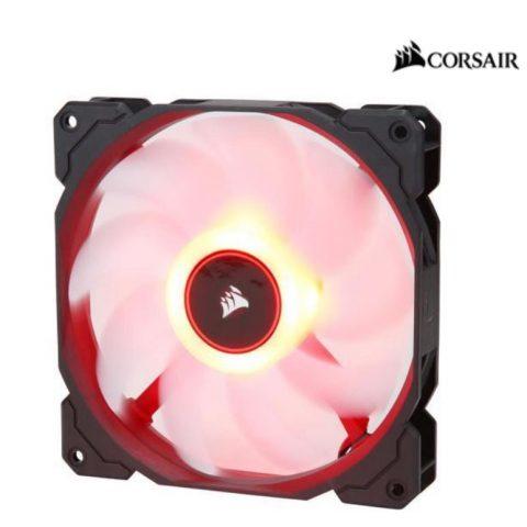 美商海盗船 AF140MM 海盗船 红色 小风扇 机箱 电脑台式机 LED 静音 散热器
