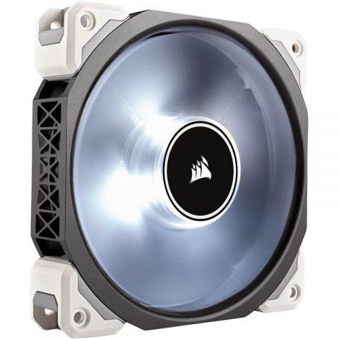 海盗船 ML120 Pro LED, White, 120mm Premium 磁悬浮技术 Levitation Fan