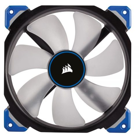 海盗船 ML140 Pro LED, Blue, 140mm Premium 磁悬浮技术 Levitation Fan