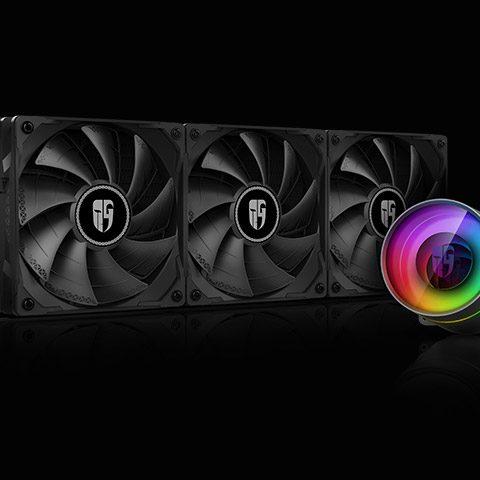 九州风神堡垒360EX RGB CPU水冷散热器 360水冷 一体式水冷散热器