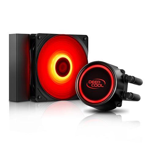 九州风神 玄冰 L120T RED Intel CPU一体水冷散热器