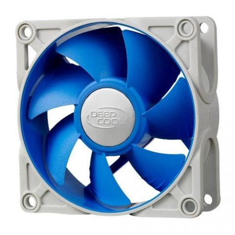 九州风神 Ultra Silent 80mm x 25mm 4pin Ball Bearing Case Fan with Anti-Vibration Frame PWM
