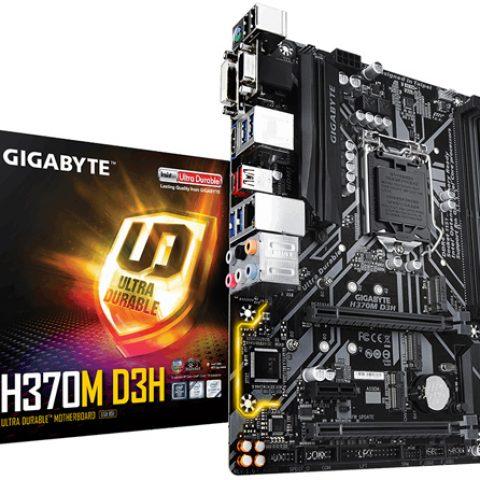 技嘉 Gigabyte LGA1151 INTEL H370 mATX DDR4