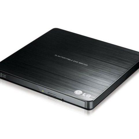 LG External Slim USB DVD Burner Black