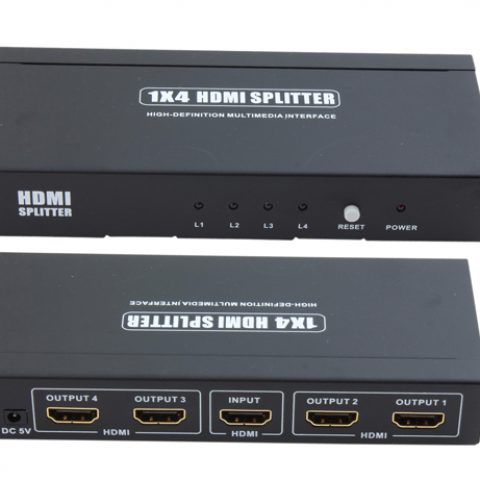 1x HDMI IN - 4x HDMI OUT Splitter