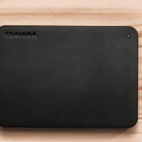 东芝 2TB CANVIO BASICS 移动硬盘