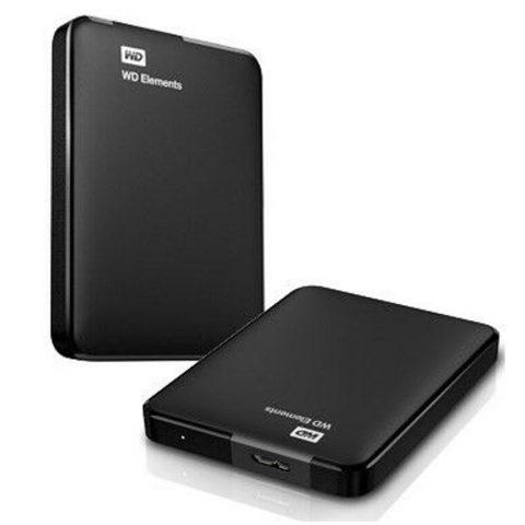 西部数据 WD WD Elements Portable 5TB 移动硬盘