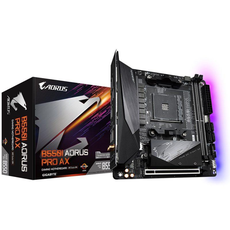 技嘉 Gigabyte B550 I AORUS PRO AX ITX Motherboard 主板