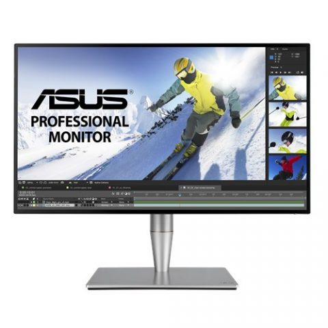 华硕 ProArt PA27AC 27' 2K 100% sRGB, REC.709 HDR IPS Eyecare Adaptive-Sync HAS SPK DP HDMI USB-C In & Out USB3.0