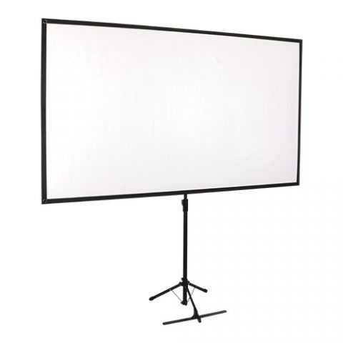 Brateck Economy 80' Tripod Projector Screen Black 16:9