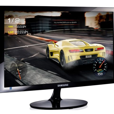 三星 SD300 23.8' / 24' FHD Gaming 显示器 1920x1080 16:9 1ms 60Hz Tilt VESA D-Sub HDMI Eye Saver Game Mode Flicker Free ECO Energy Efficiency