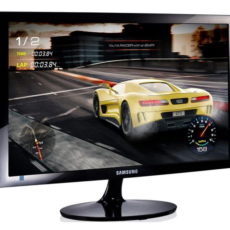 三星 SD300 23.8' / 24' FHD Gaming 显示器 1920x1080 16:9 1ms 60Hz Tilt VESA D-Sub HDMI Eye Saver Game Mode Flicker Free ECO Energy Efficiency