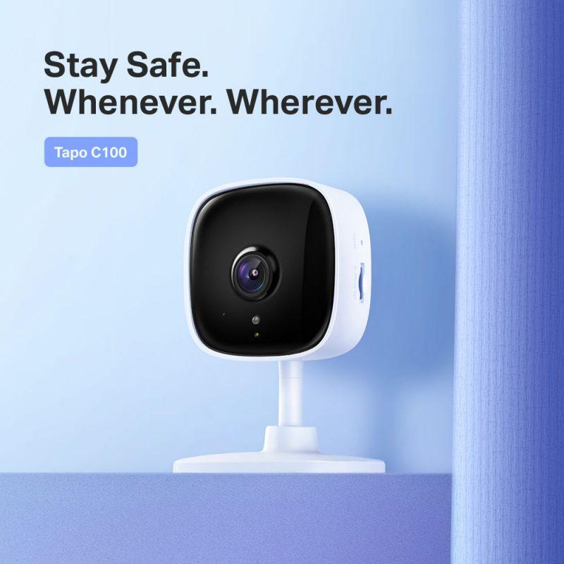 TP-Link C100 Tapo Home Security Wi-Fi Camera 家庭安全 监控 摄像头