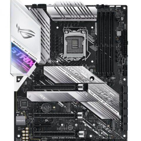 华硕 Asus 玩家国度 ROG STRIX Z490-A ATX MotherBoard 主板 Z490 LGA1200 英特尔主板 Intel主板