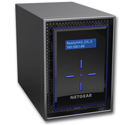网件 2 Bay Diskless NAS INTEL ATOM Tower
