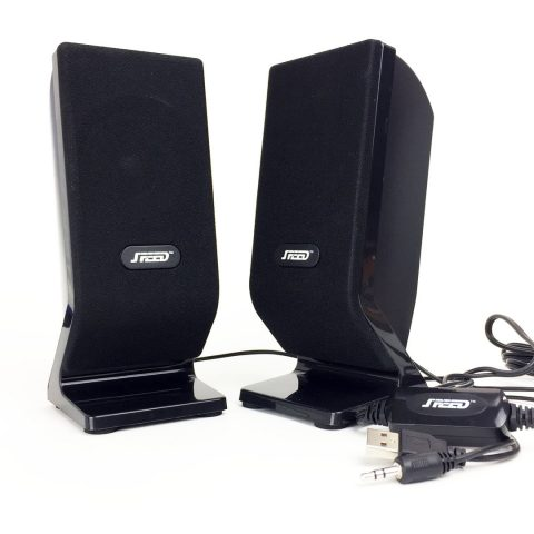 SPEED 2.0 2.5W USB BLK SPEAKER