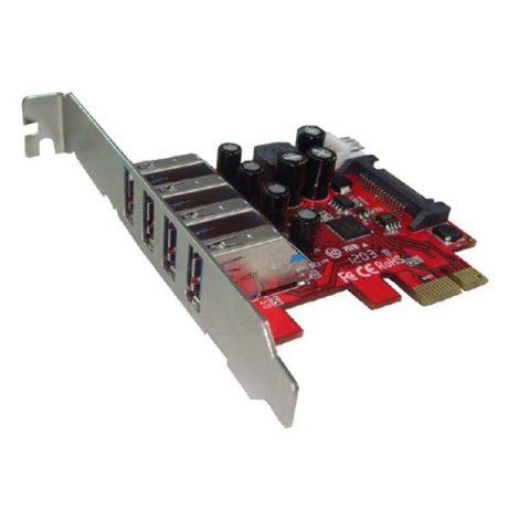 PCIE - 4x PORT USB3 CARD
