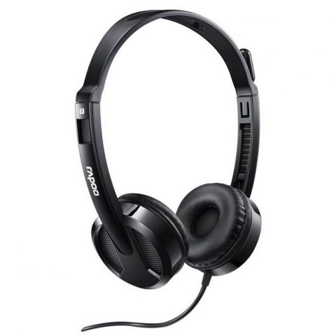 RAPOO H100 Wired Stereo Headset 耳机