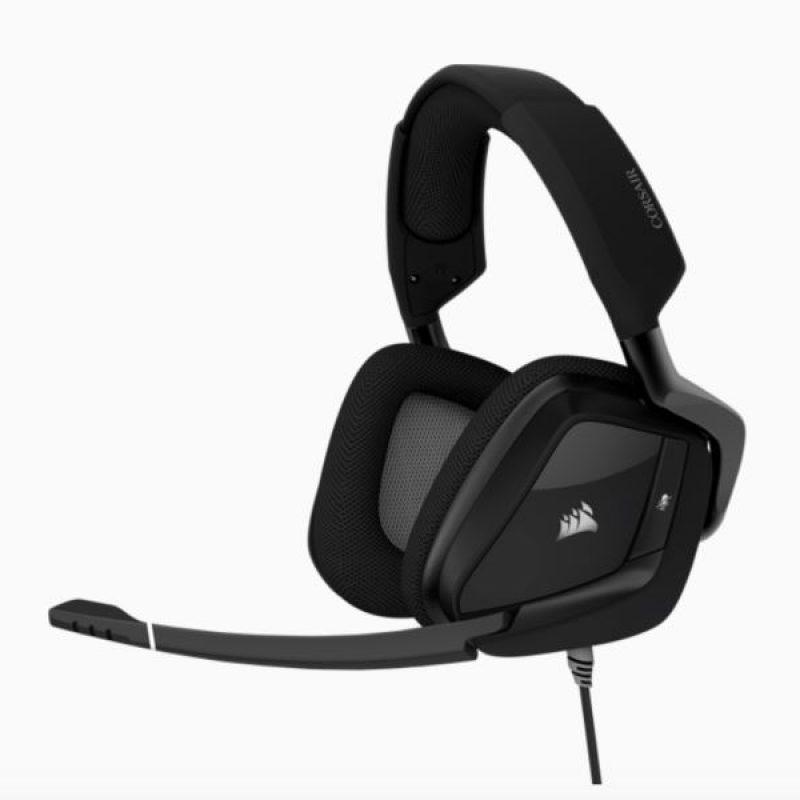 海盗船 VOID Elite Carbon Black USB Wired Premium Gaming Headset黑色7.1声道耳机