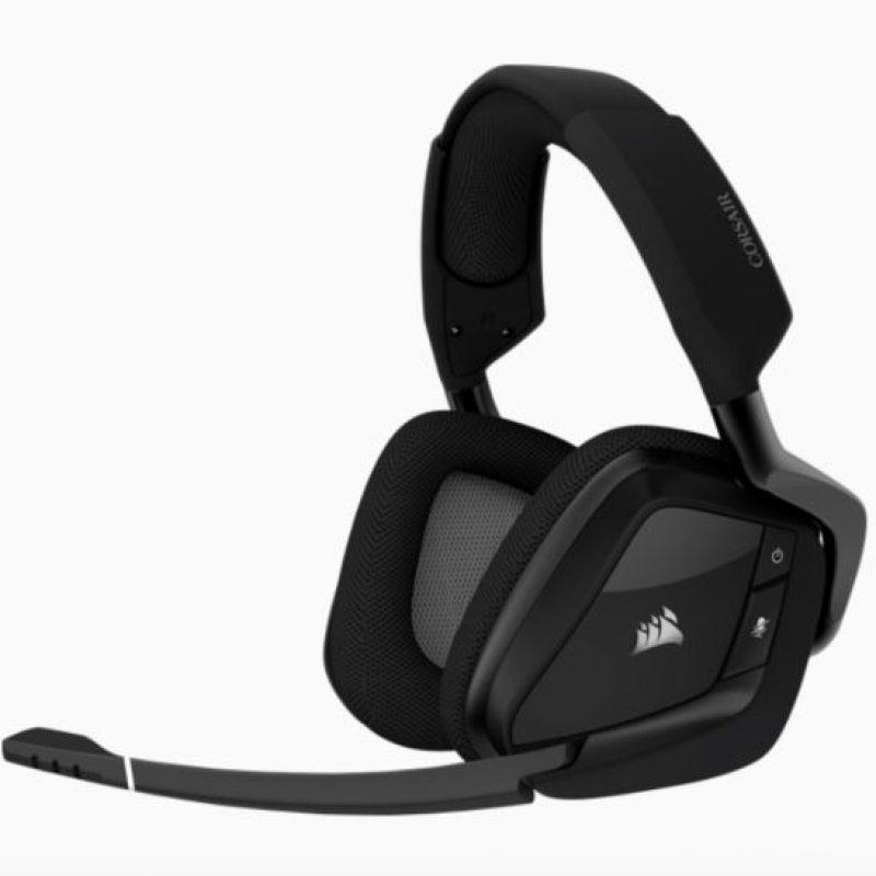 海盗船 VOID Elite Carbon Black USB Wireless Premium Gaming Headset 无线耳机 黑色7.1声道耳机