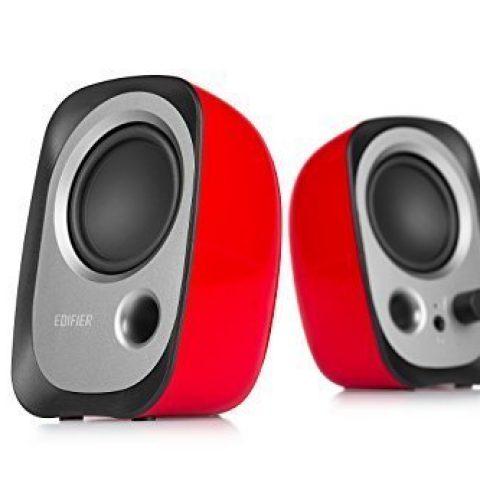 Edifier 漫步者小音箱 红色 R12U USB Compact 2.0 Red  音响 扬声器