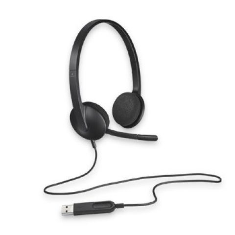 罗技 H340 Plug-and-Play USB headset 降噪耳机