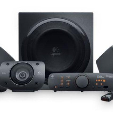 罗技 罗技 Z906 5.1 Channel THX认证 杜比环绕声音响系统 Speaker System  音箱 扬声器