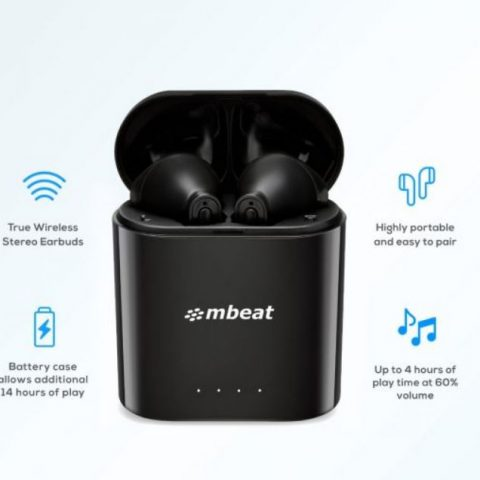 mbeat E1 True Wireless Earbuds 无线耳塞