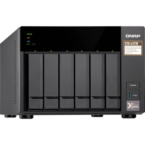 QNAP TS-673 NAS 6 Bay Diskless Tower