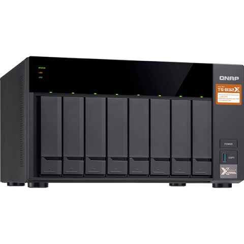 QNAP TS-832X-8G 8 Bay Diskless Tower