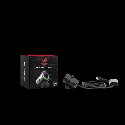 华硕 Asus 玩家国度ROG信仰投影灯 投射灯 ROG USB Spotlight Logo Projector