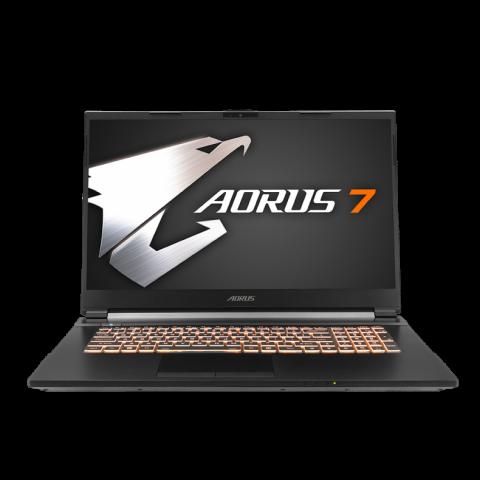 技嘉 Gigabyte Aorus 7 17.3 144Hz Core i7-10750 RTX 2060 10代笔记本 大雕笔记本