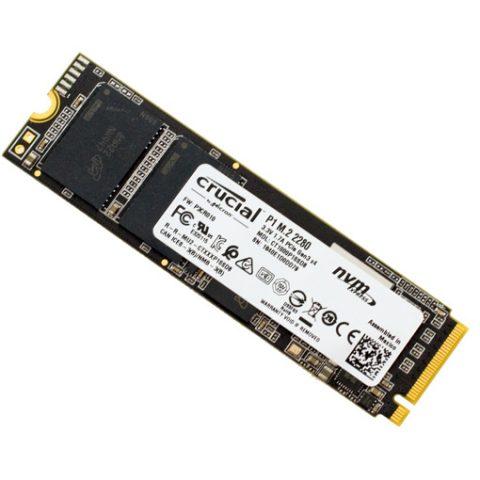 镁光 P1 2TB M.2 NVMe SSD 固态硬盘