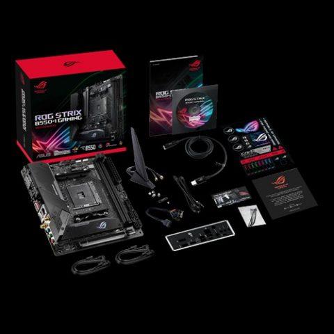 华硕 Asus 玩家国度 ROG Strix B550-I Gaming ITX Motherboard 主板