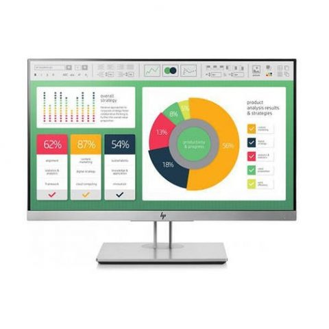 HP E223 21.5' IPS, 16:9, 1920x1080, VGA+DP+HDMI+USB,  Tilt, Swivel, Pivot, Height, USB, 3 Yrs
