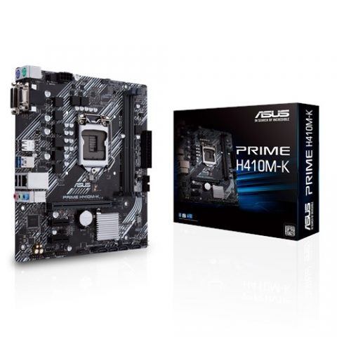 华硕ASUS PRIME H410M-K mATX Motherboard H410 LGA1200 英特尔主板 Intel主板