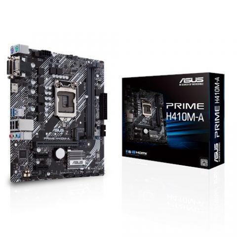 华硕ASUS PRIME H410M-A mATX Motherboard H410 LGA1200 英特尔主板 Intel主板